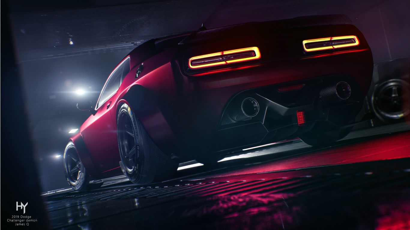 Dodge Challenger Srt Demon 4k 3 Wallpaper Hd Car