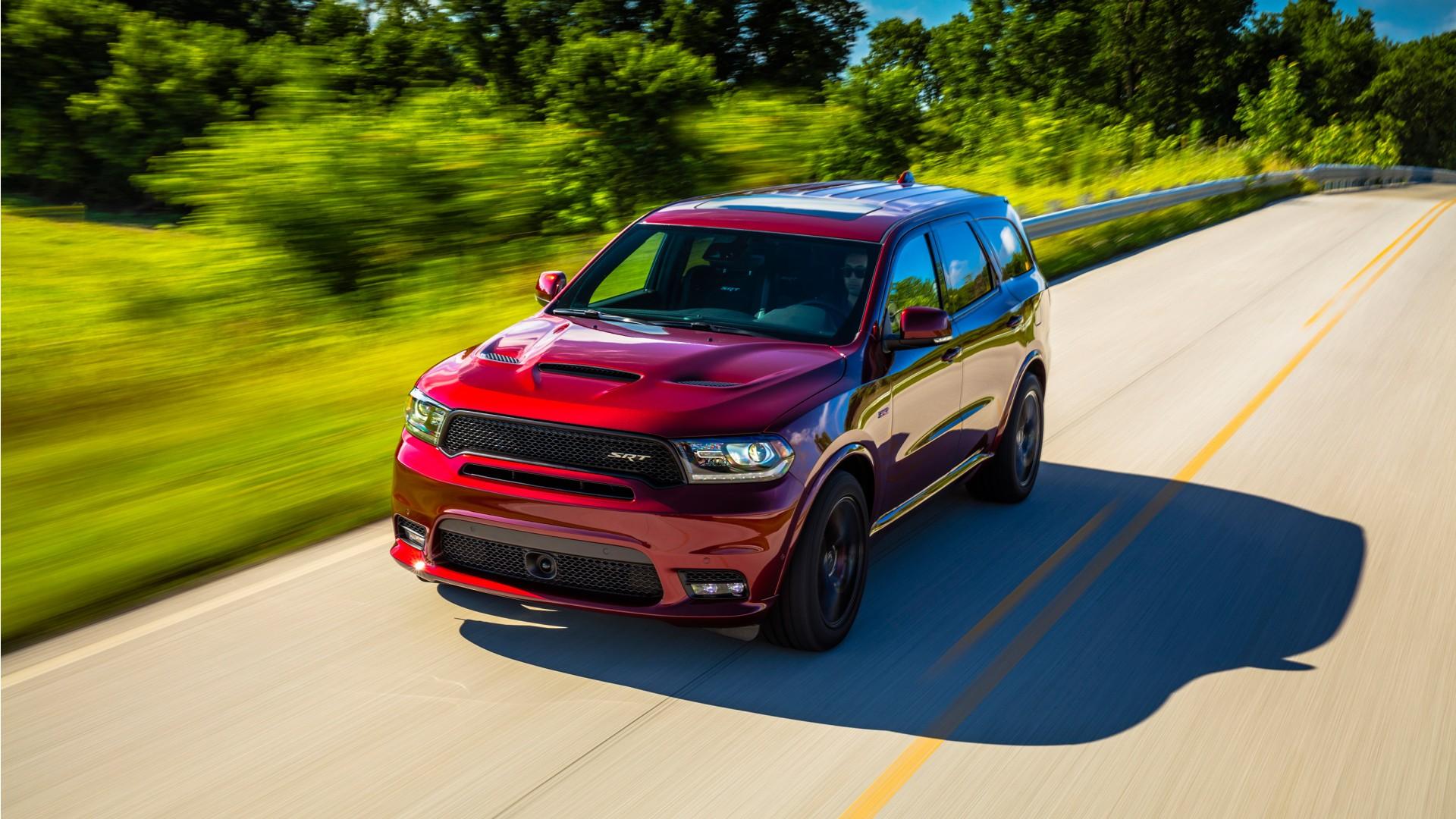 Dodge Durango Srt 2018 Wallpaper Hd Car Wallpapers Id