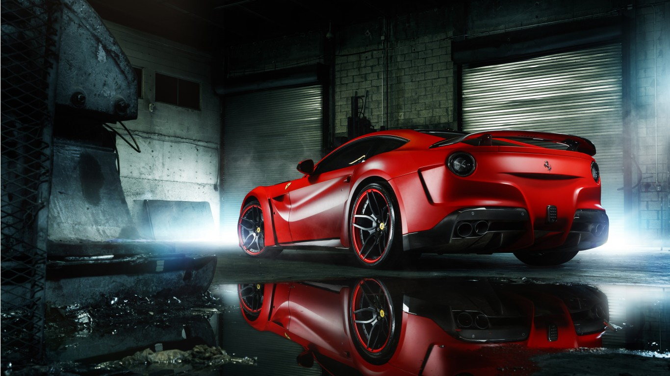 Car Wallpapers Backgrounds Hd: DUB Magazine MC Customs Wide Body Ferrari F12 2 Wallpaper