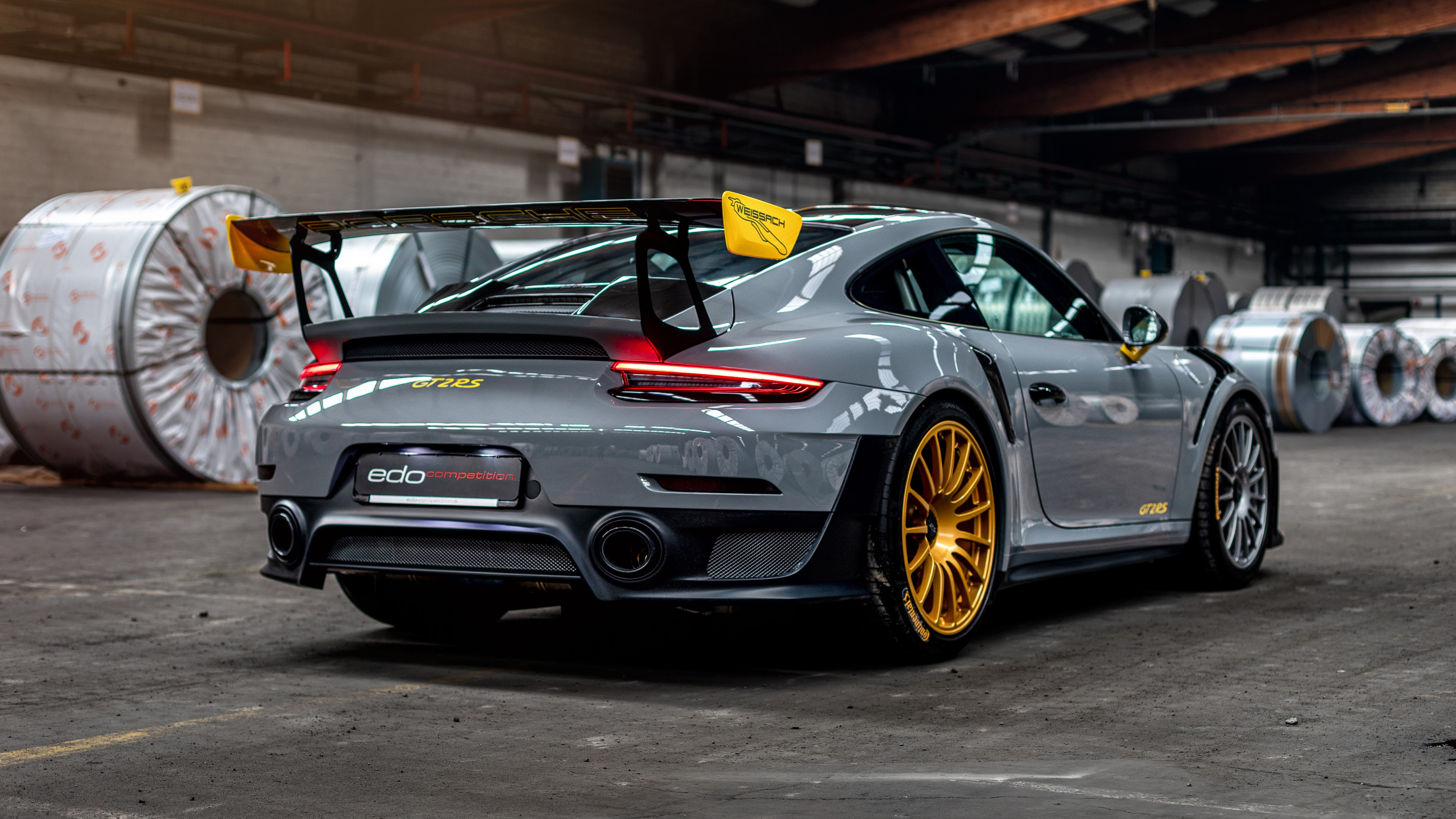 Edo Competition Porsche 911 GT2 RS Canvas  WALL ART VARIOUS SIZES
