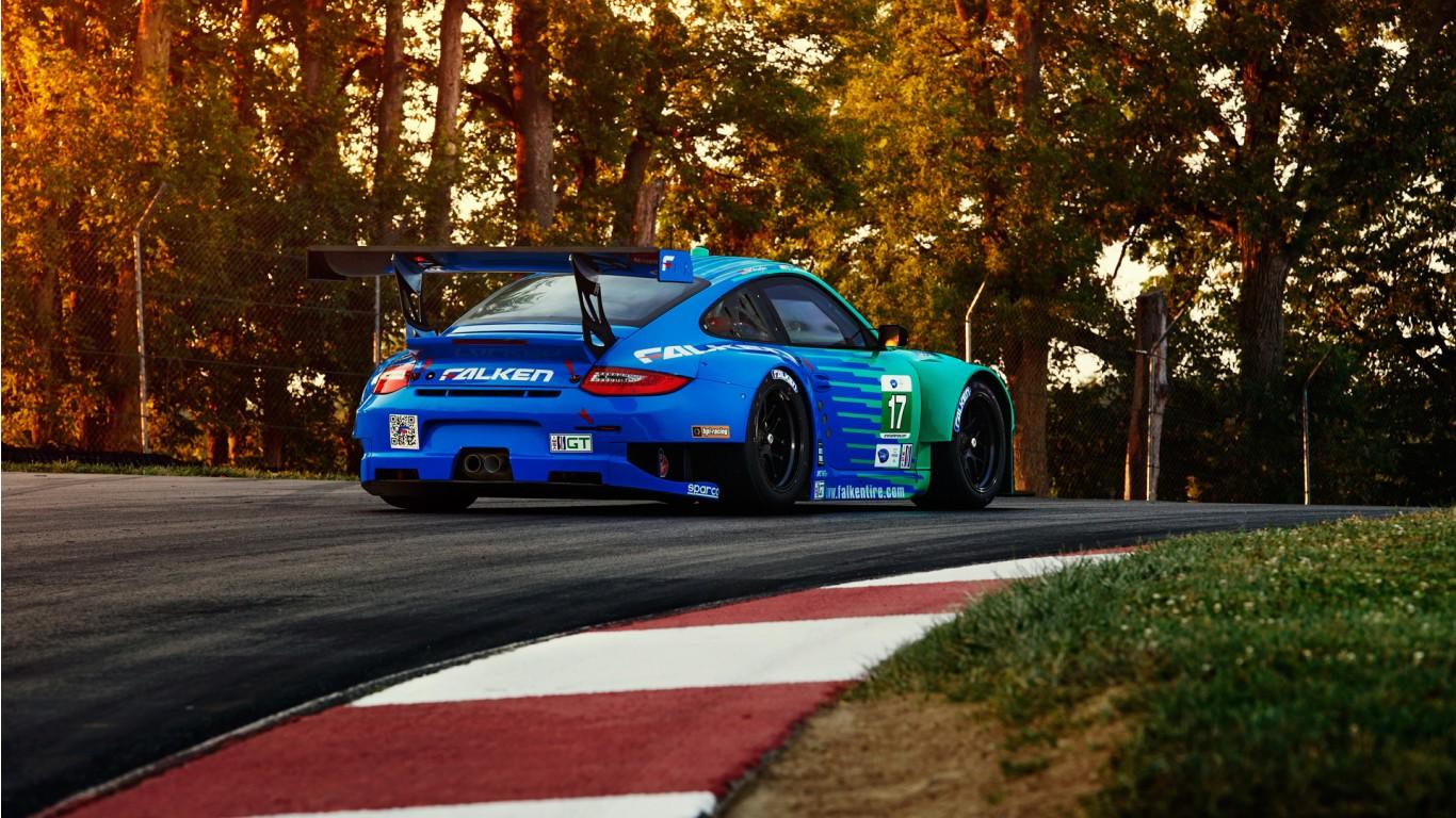 Porsche 911 Gt2 Rs >> Falken Porsche RSR 2 Wallpaper | HD Car Wallpapers | ID #3222