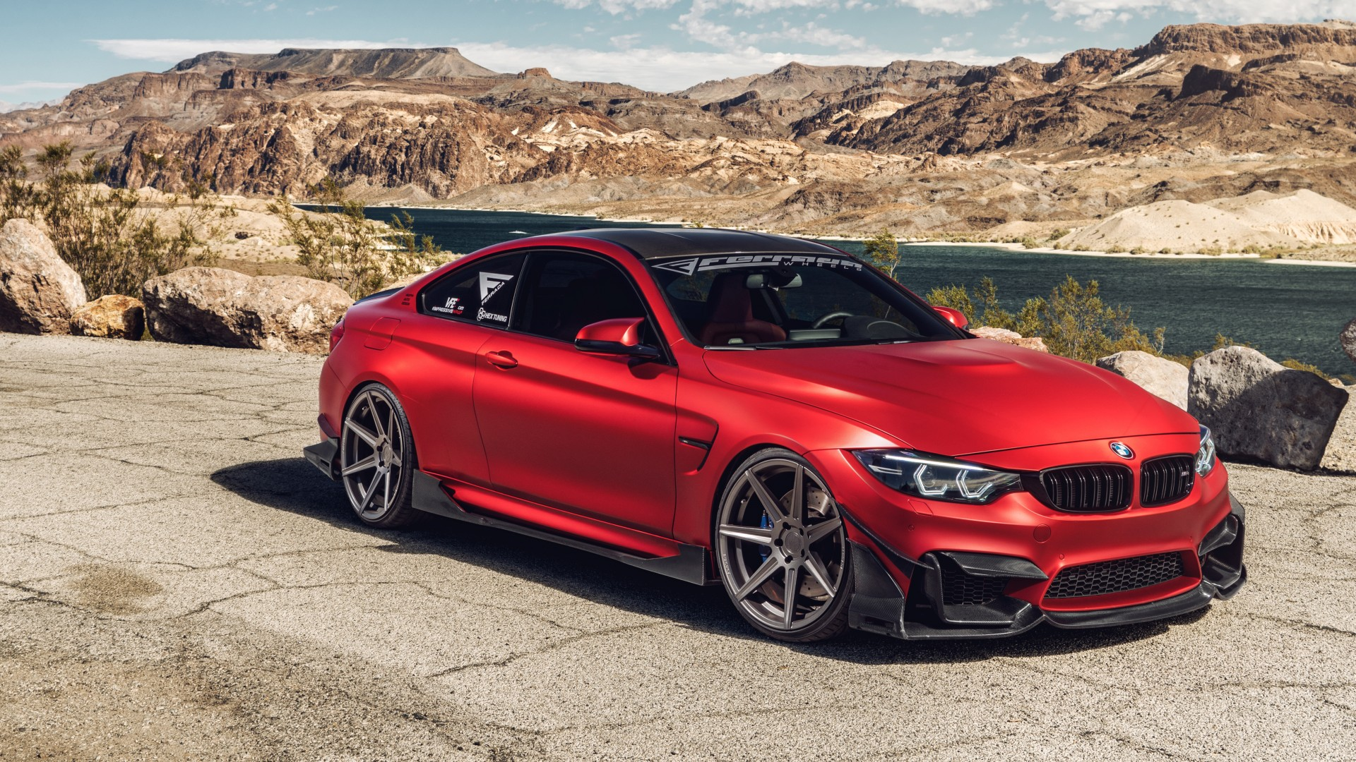 Ferrada Red Matte BMW M4 5K Wallpaper | HD Car Wallpapers ...