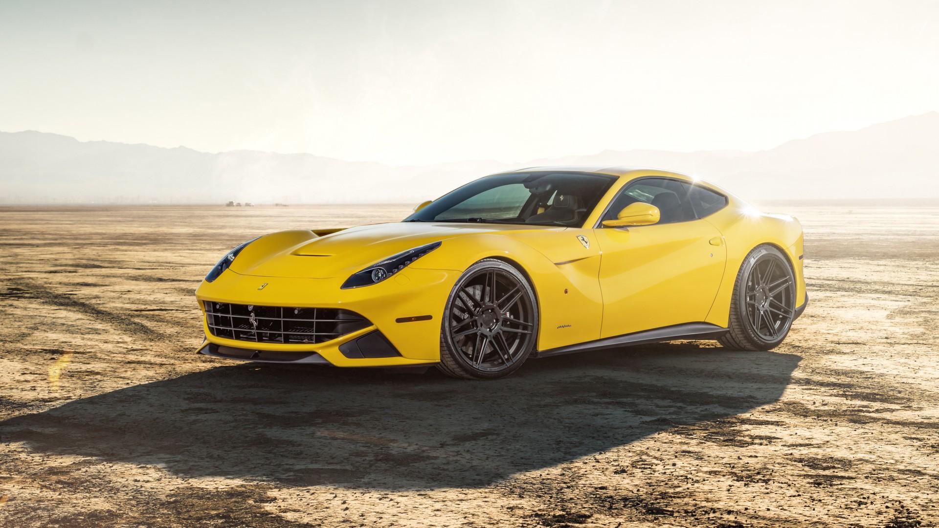 Ferrada Sema Yellow Ferrari F12 5K 2 Wallpaper | HD Car ...