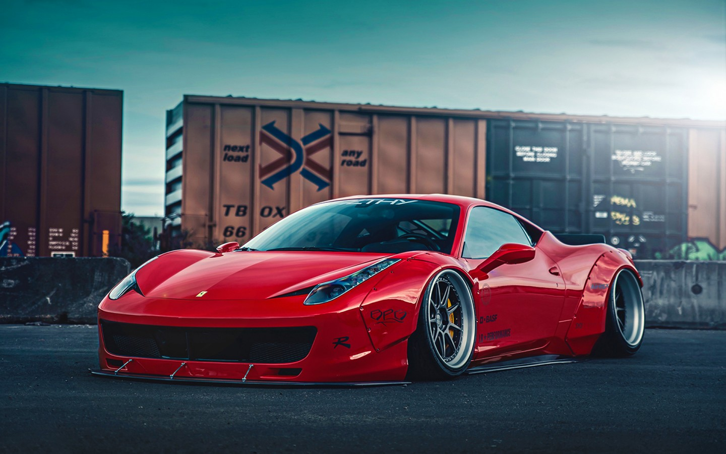 ferrari 458 liberty walk 2 wallpaper hd car wallpapers id 5687. Black Bedroom Furniture Sets. Home Design Ideas