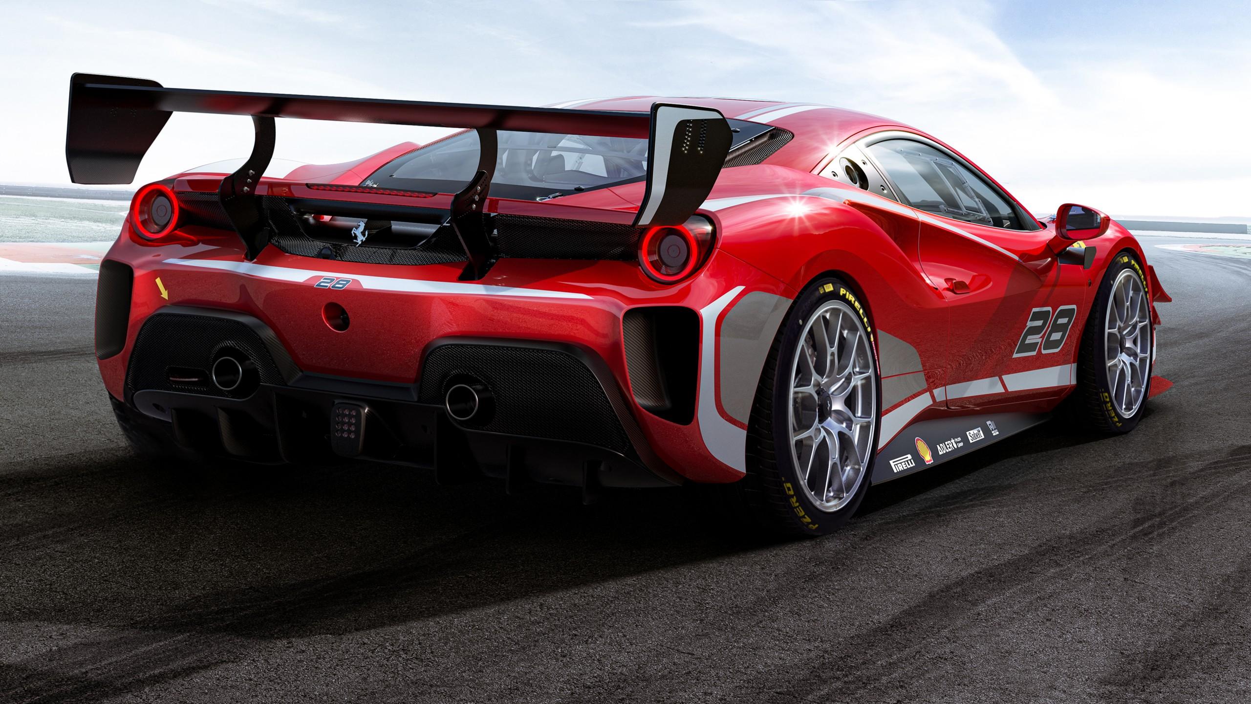 Ferrari 488 Challenge Evo 2020 4K Wallpaper | HD Car ...
