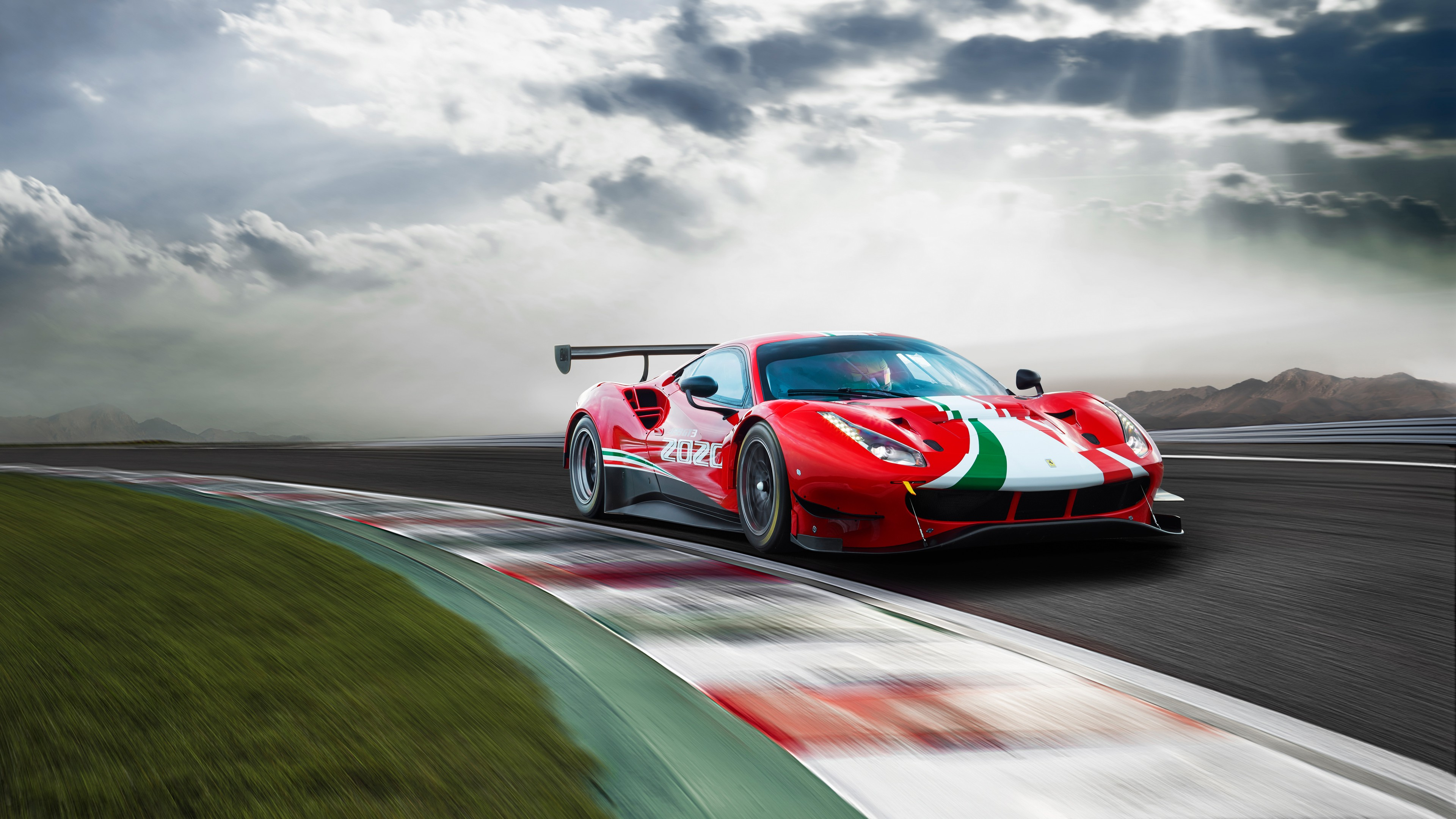 Ferrari 488 GT3 Evo 2020 Racing Wallpaper | HD Car Wallpapers | ID #13545