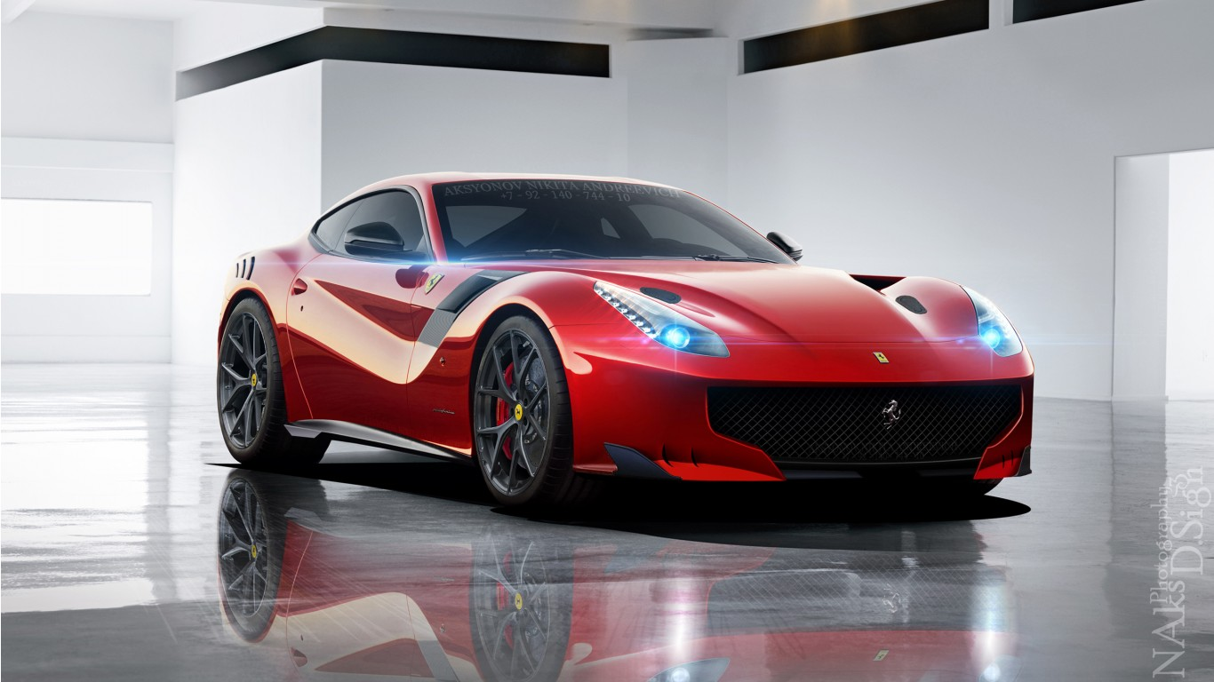 Cars Wallpapers: Ferrari F12 GTO Wallpaper