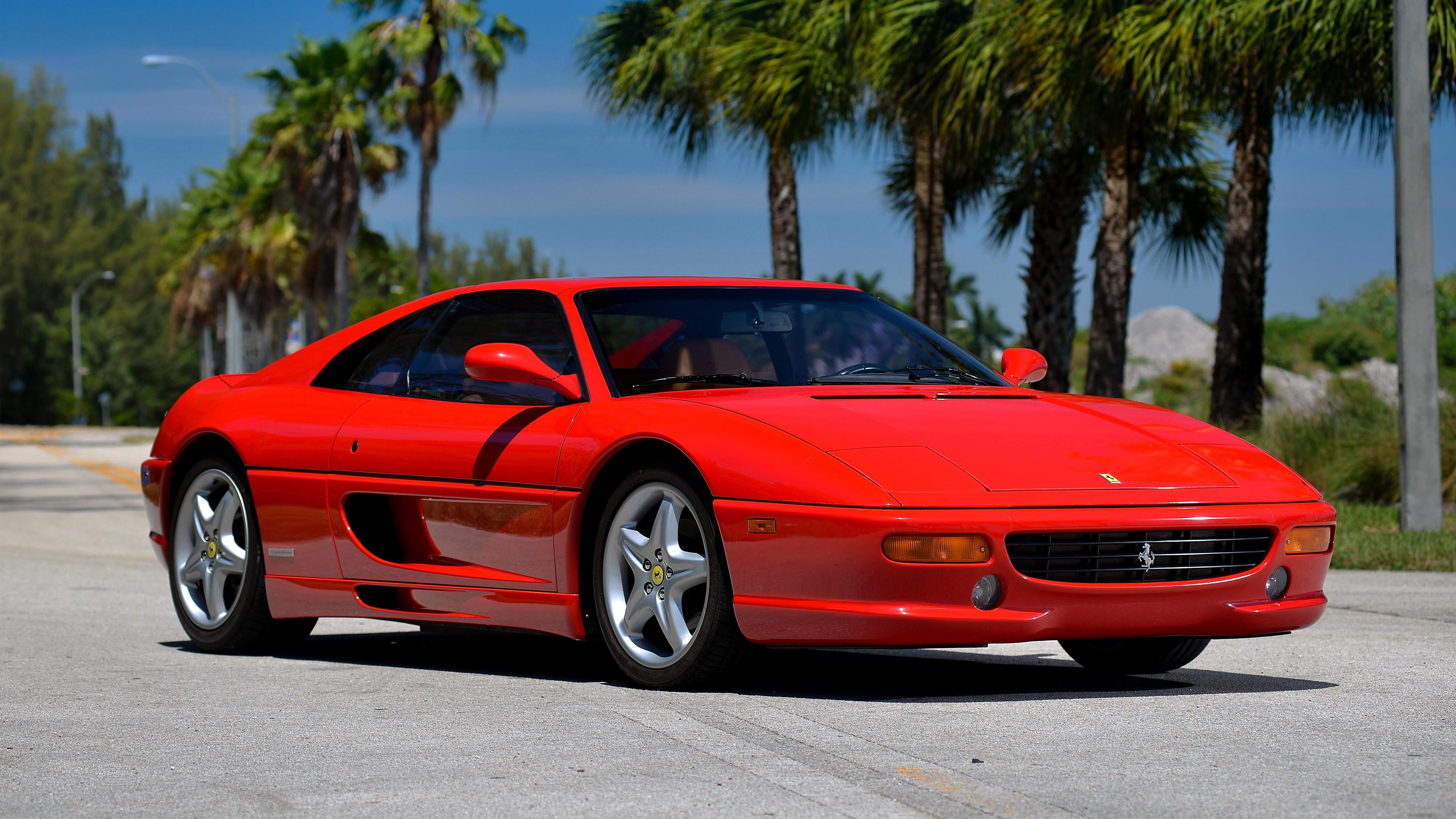 Acura Exotic Car >> Ferrari F355 GTS 4K Wallpaper   HD Car Wallpapers   ID #6903