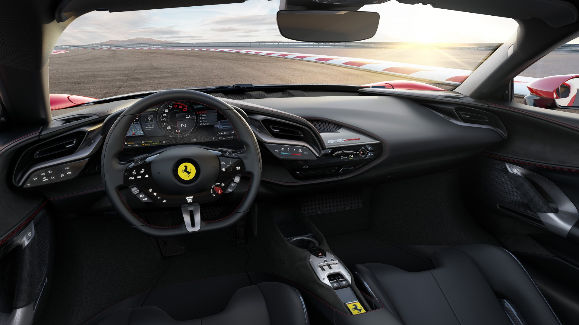 Ferrari SF90 Stradale 2019 4K Interior Wallpaper | HD Car ...