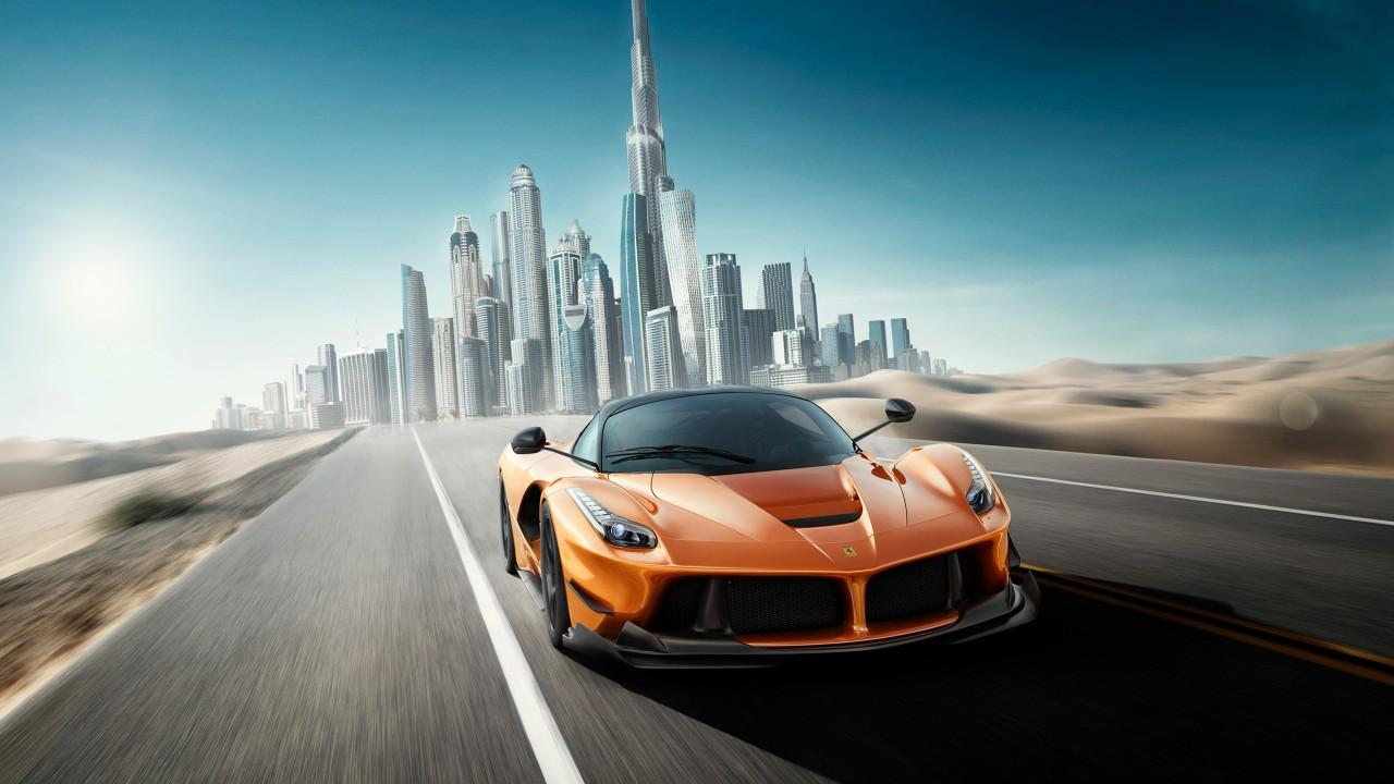 Super Cars Hd Wallpaper: Ferrari Supercar Wallpaper