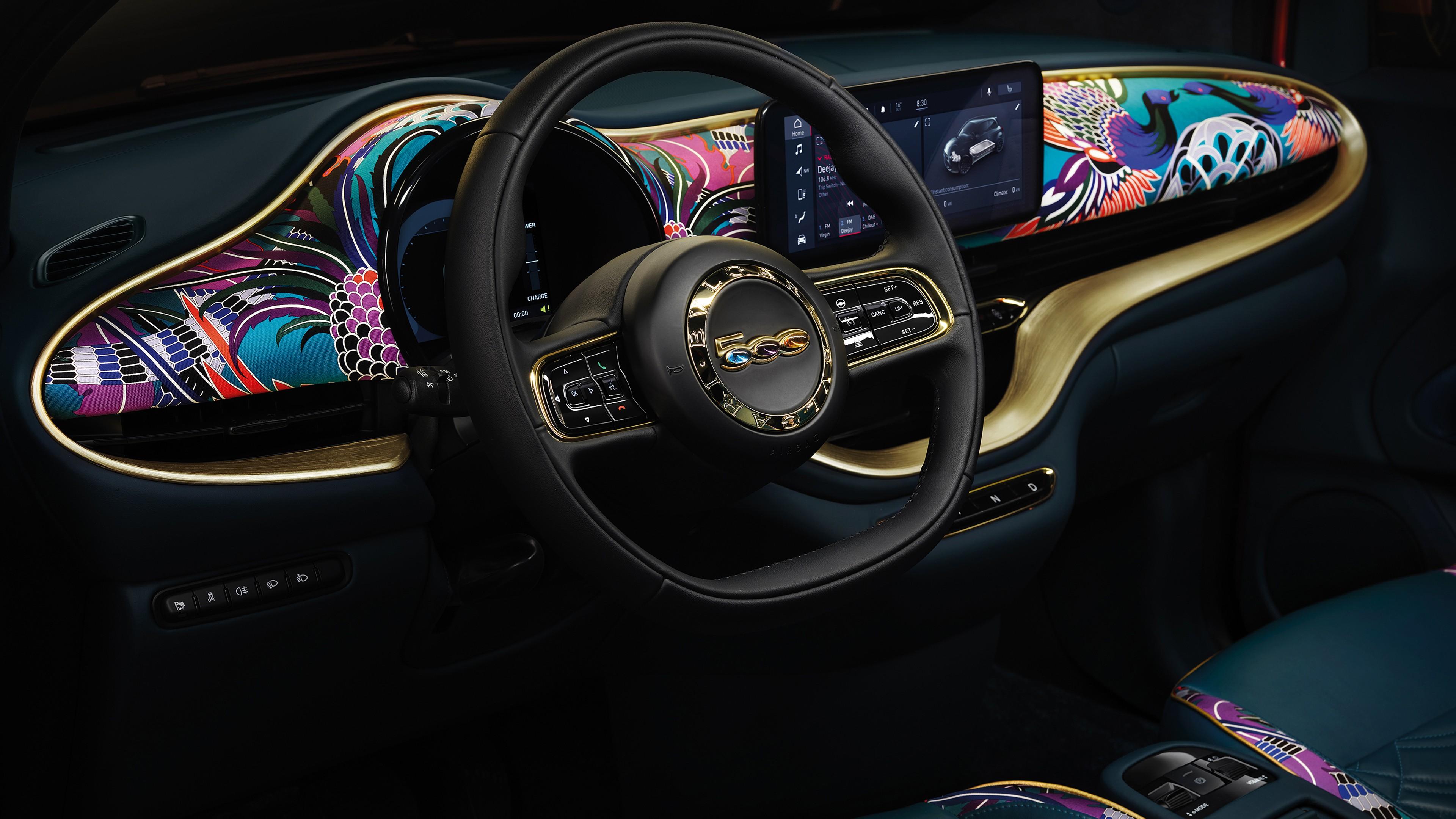 Fiat B500 Mai Troppo By Bvlgari 2020 Interior 4k Wallpaper Hd Car Wallpapers Id 14506