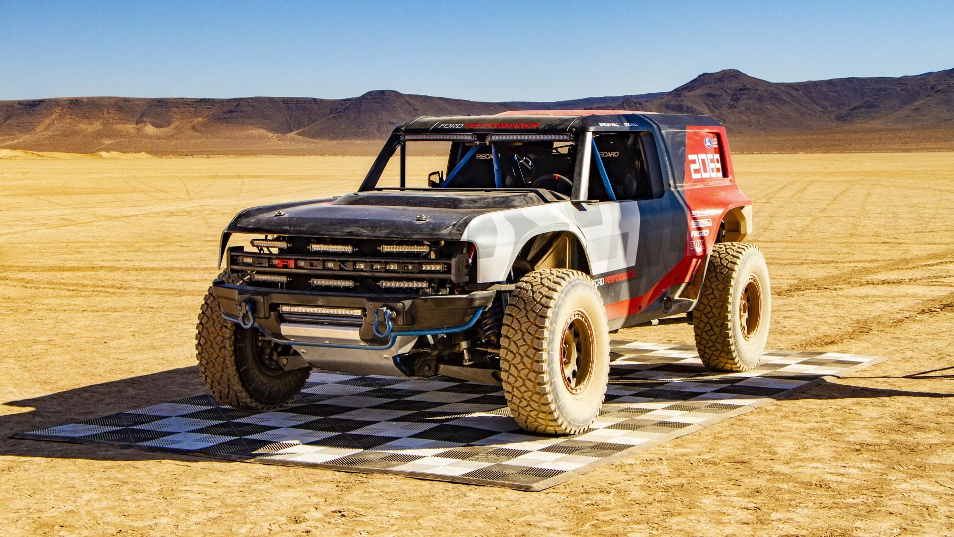 Ford Bronco R Race Prototype 2019 4K 2 Wallpaper   HD Car ...