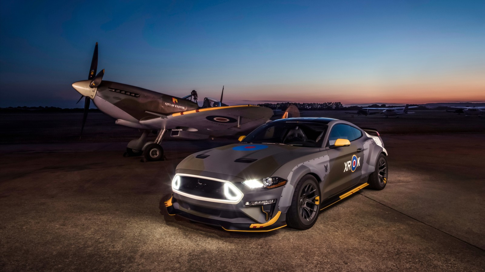 Ford Eagle Squadron Mustang GT 2018 4K 2 Wallpaper | HD Car Wallpapers | ID #10826