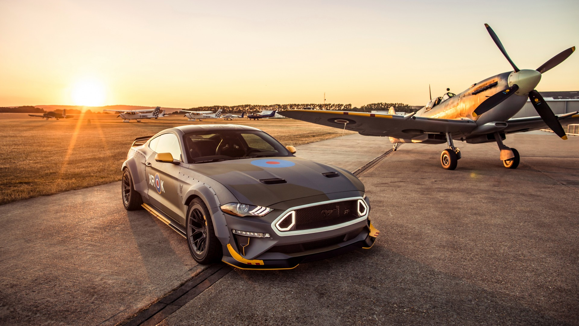 Ford eagle squadron mustang gt 2018 4k 3 wallpaper hd car wallpapers id 10823 - Ford mustang wallpaper download ...