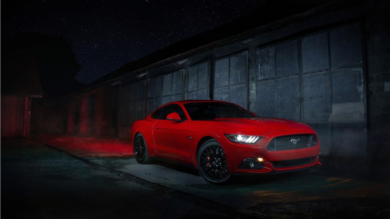 Ford Mustang 4K Wallpaper | HD Car Wallpapers | ID #12359