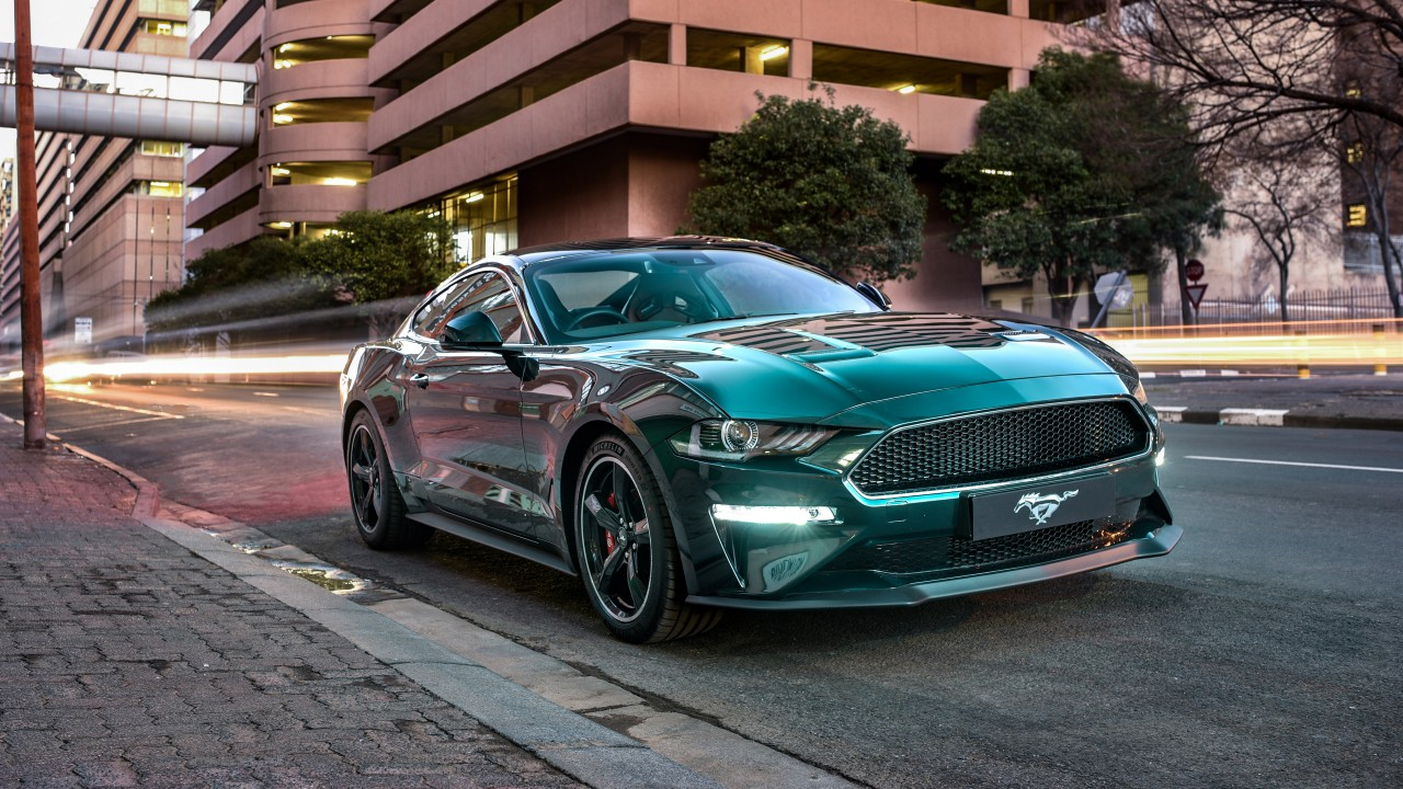 ford mustang bullitt 2019 4k 6 wallpaper