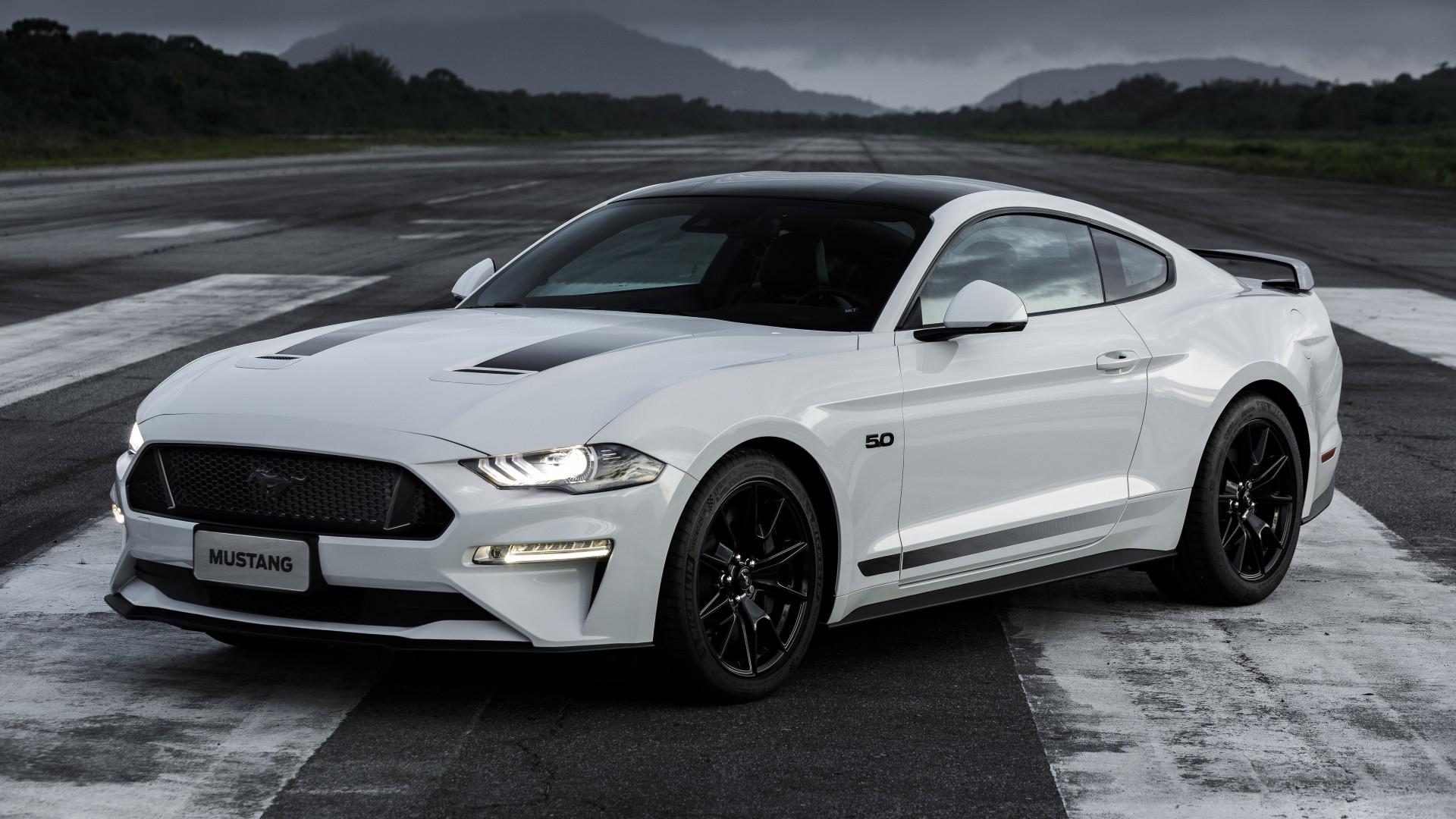 Ford Mustang GT Black Shadow 2019 4K 5K Wallpaper   HD Car ...