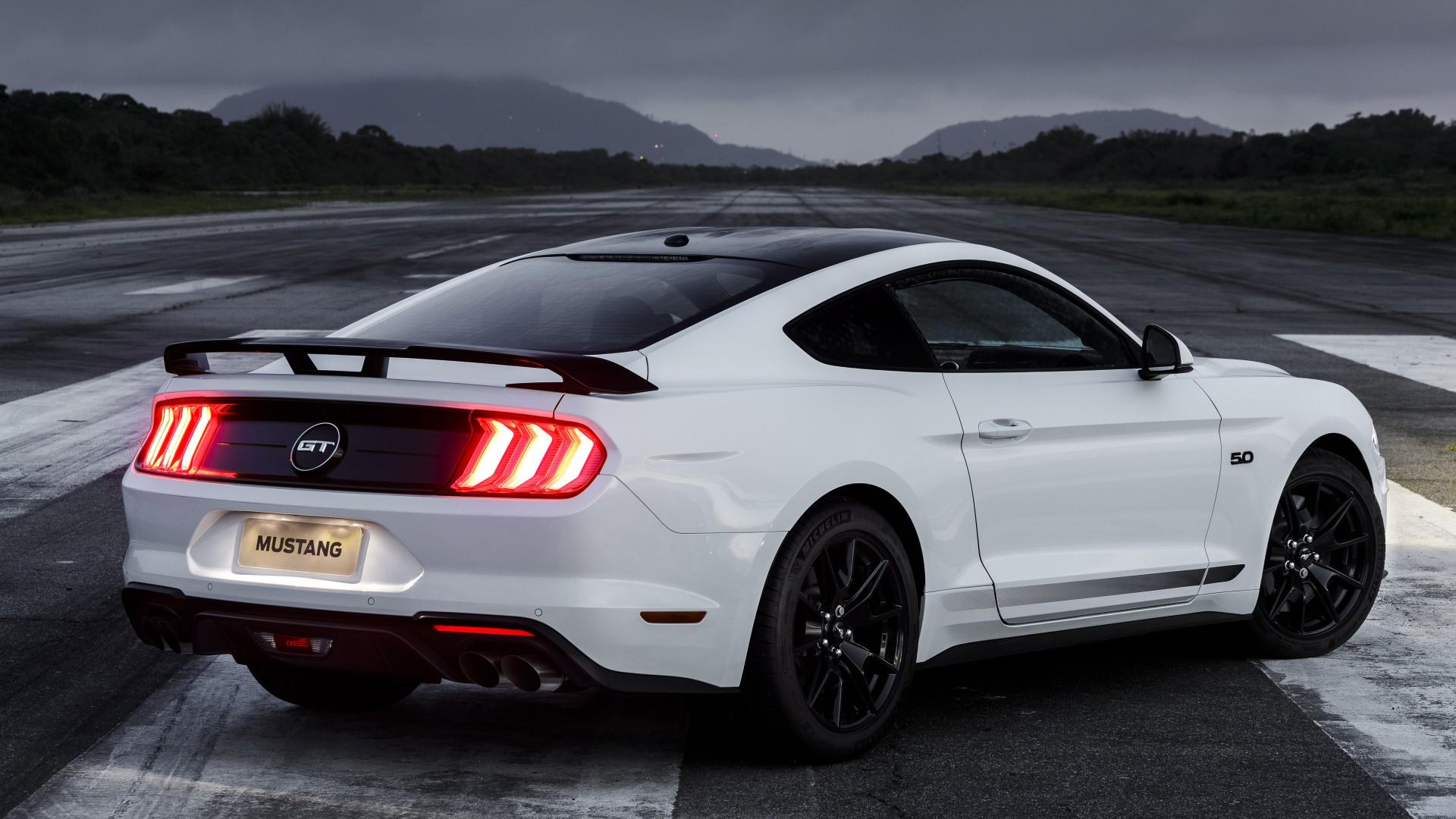 Ford Mustang GT Black Shadow 2019 4K 5K 3 Wallpaper | HD ...