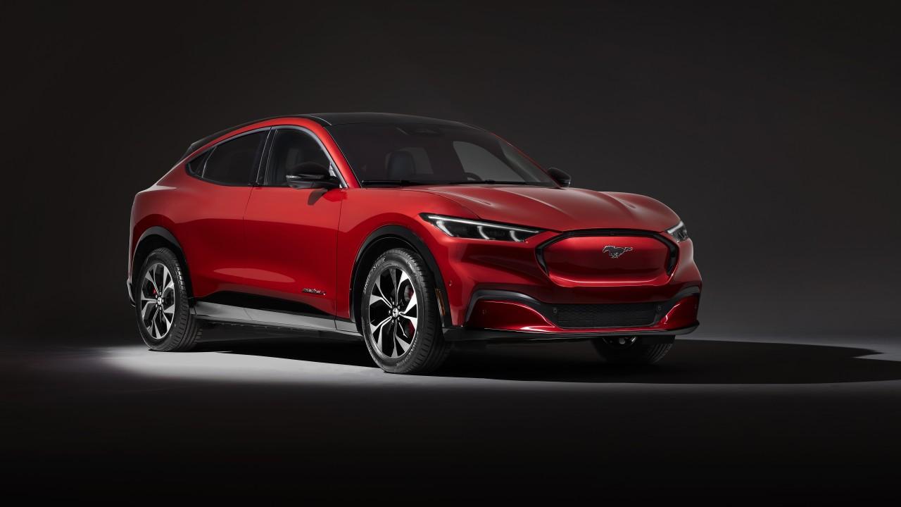 Mustang Mach 2 >> Ford Mustang Mach-E X 2020 5K Wallpaper | HD Car Wallpapers | ID #13748