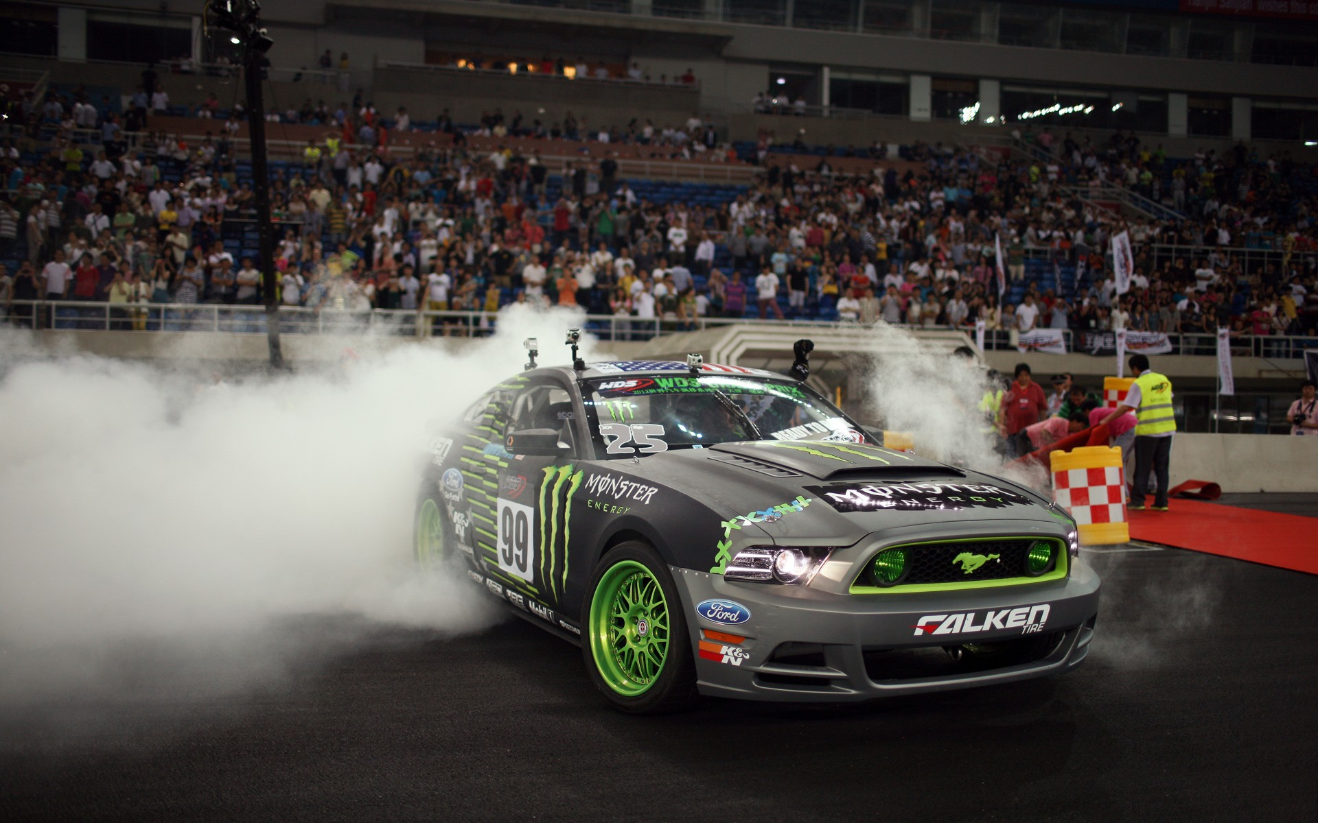 Ford Mustang Monster Energy Wallpaper Hd Car Wallpapers Id 2746