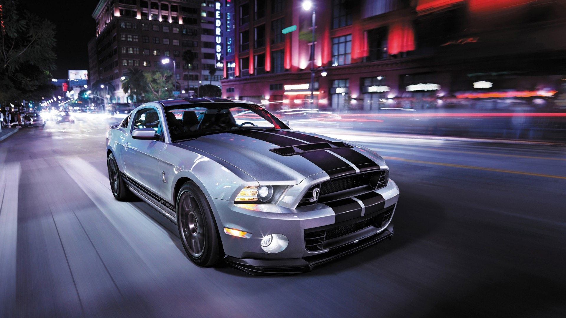 2014 Hd Wallpapers: Ford Shelby GT500 2014 Wallpaper