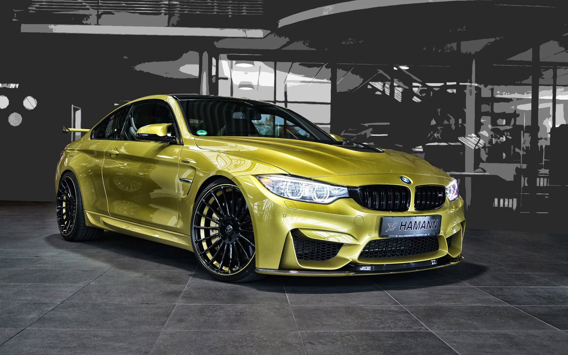 yellow bmw tuning hd-#12