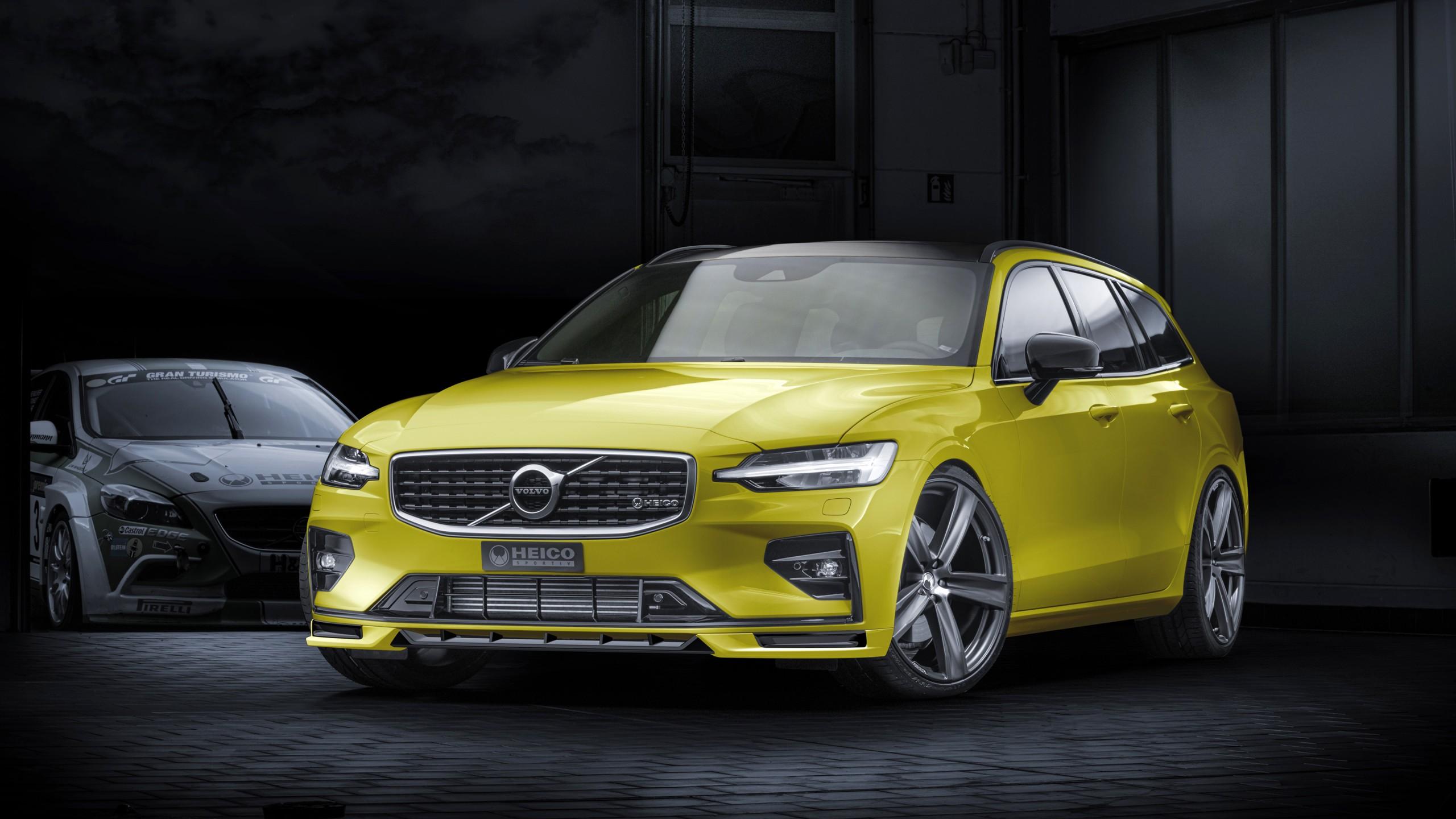 Heico Sportiv Volvo V60 T6 R Design 2019 4k Wallpaper Hd Car Wallpapers Id 13512