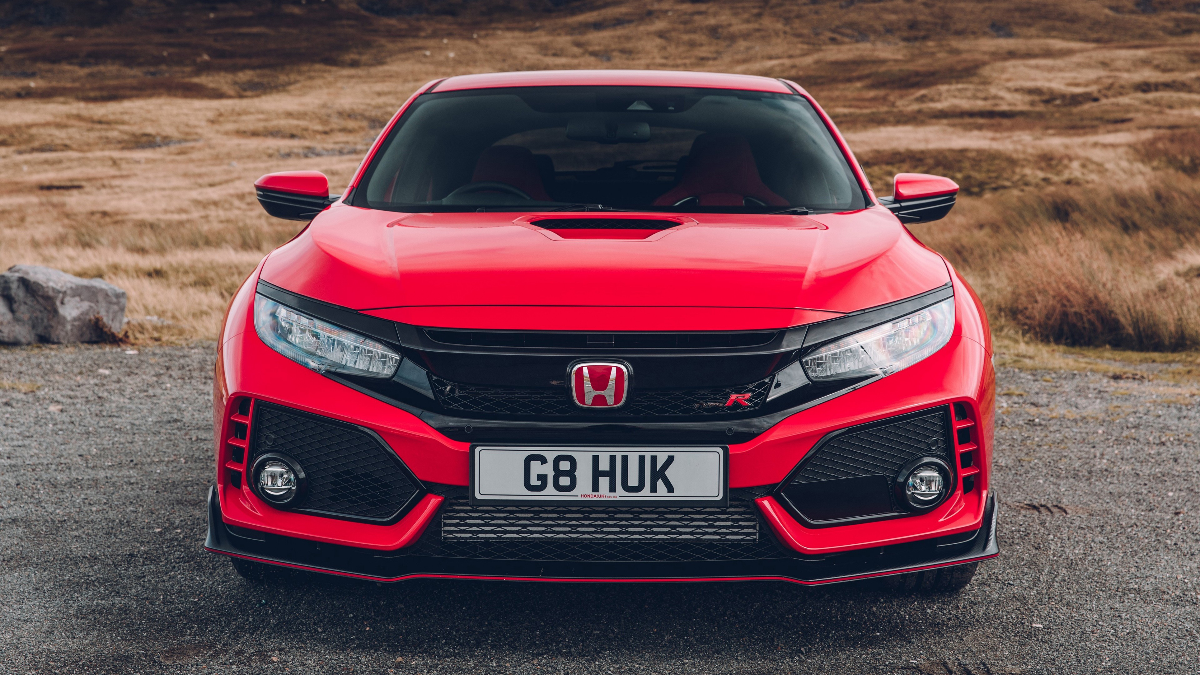 Honda Civic Type R 2017 4K Wallpaper