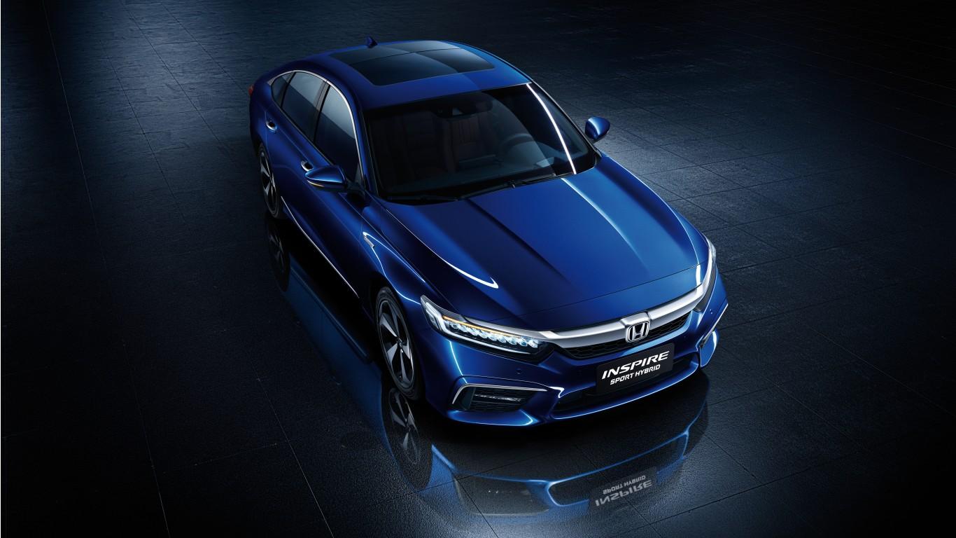 Honda Inspire Sport Hybrid 2018 4K Wallpaper   HD Car ...