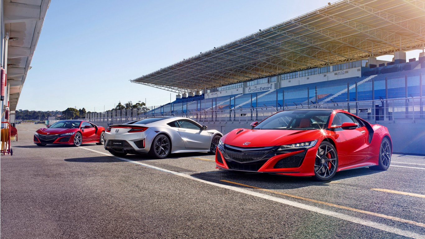 4k Wallpaper: Honda NSX 2017 4K Wallpaper