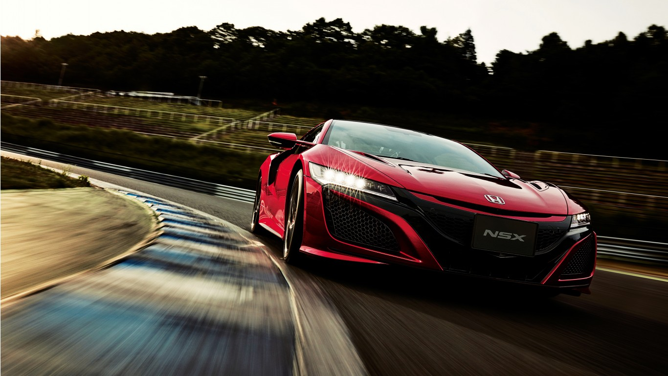 Honda NSX 2018 4K Wallpaper | HD Car Wallpapers | ID #11500