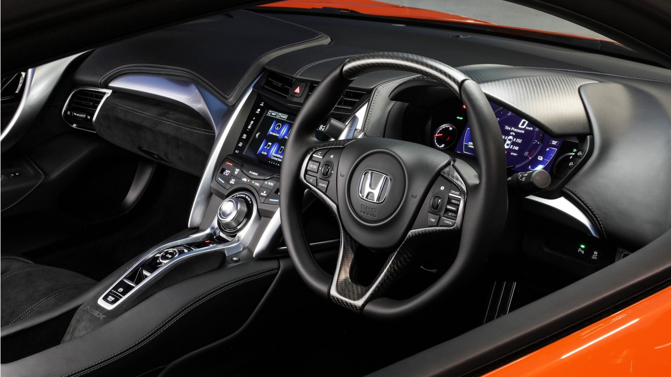 Honda Nsx 2019 4k Interior Wallpaper Hd Car Wallpapers
