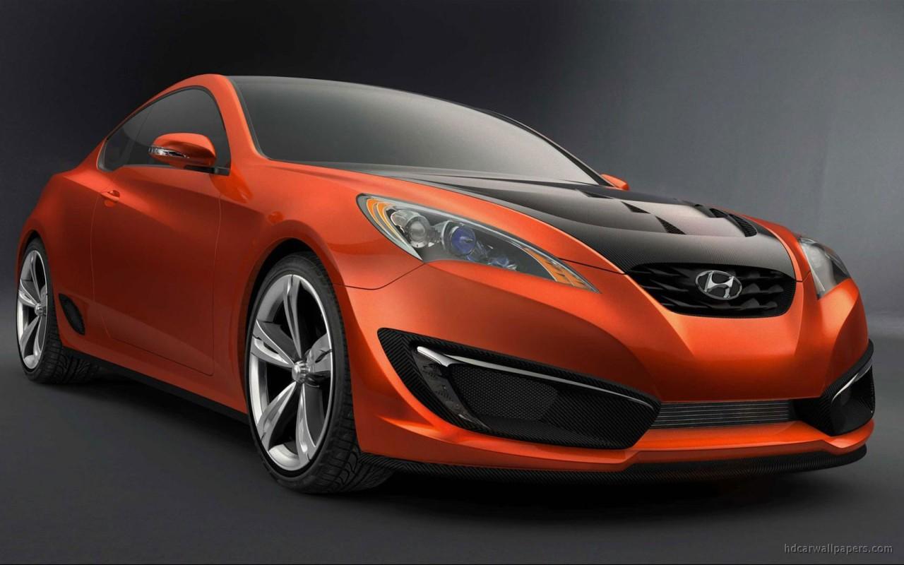 hyundai genesis coupe concept 4 wallpaper hd car wallpapers id 982. Black Bedroom Furniture Sets. Home Design Ideas