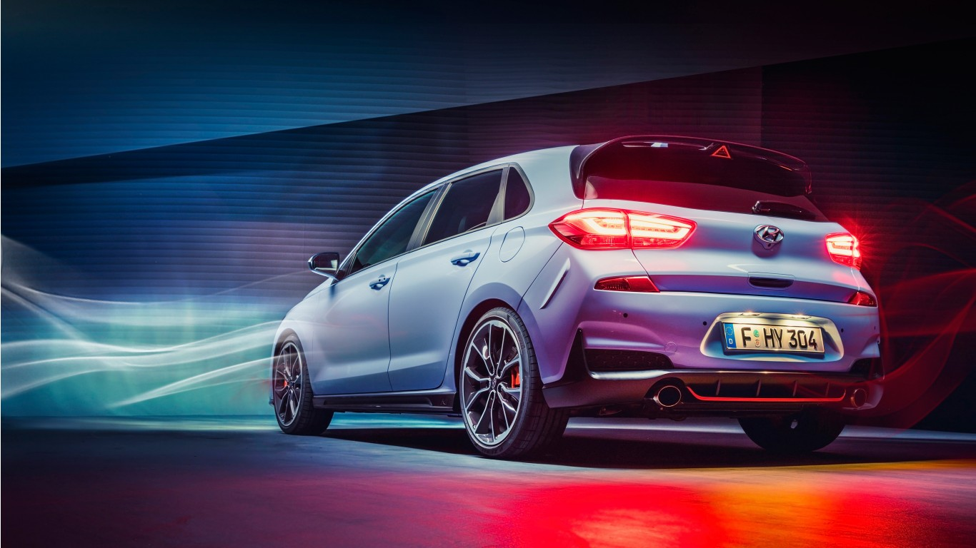 Hyundai i30 N 2017 Rear Wallpaper | HD Car Wallpapers | ID ...