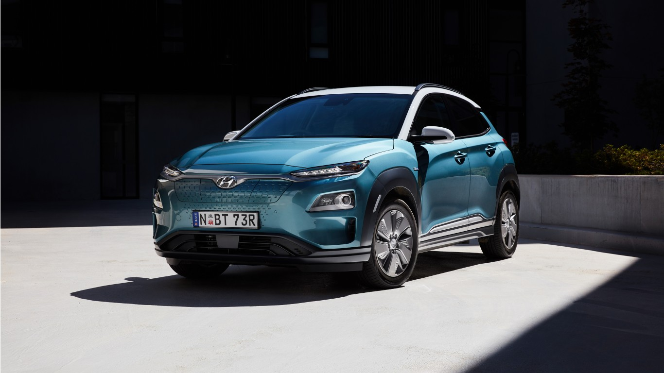 Hyundai Kona Electric 2019 4K Wallpaper | HD Car Wallpapers | ID #12337