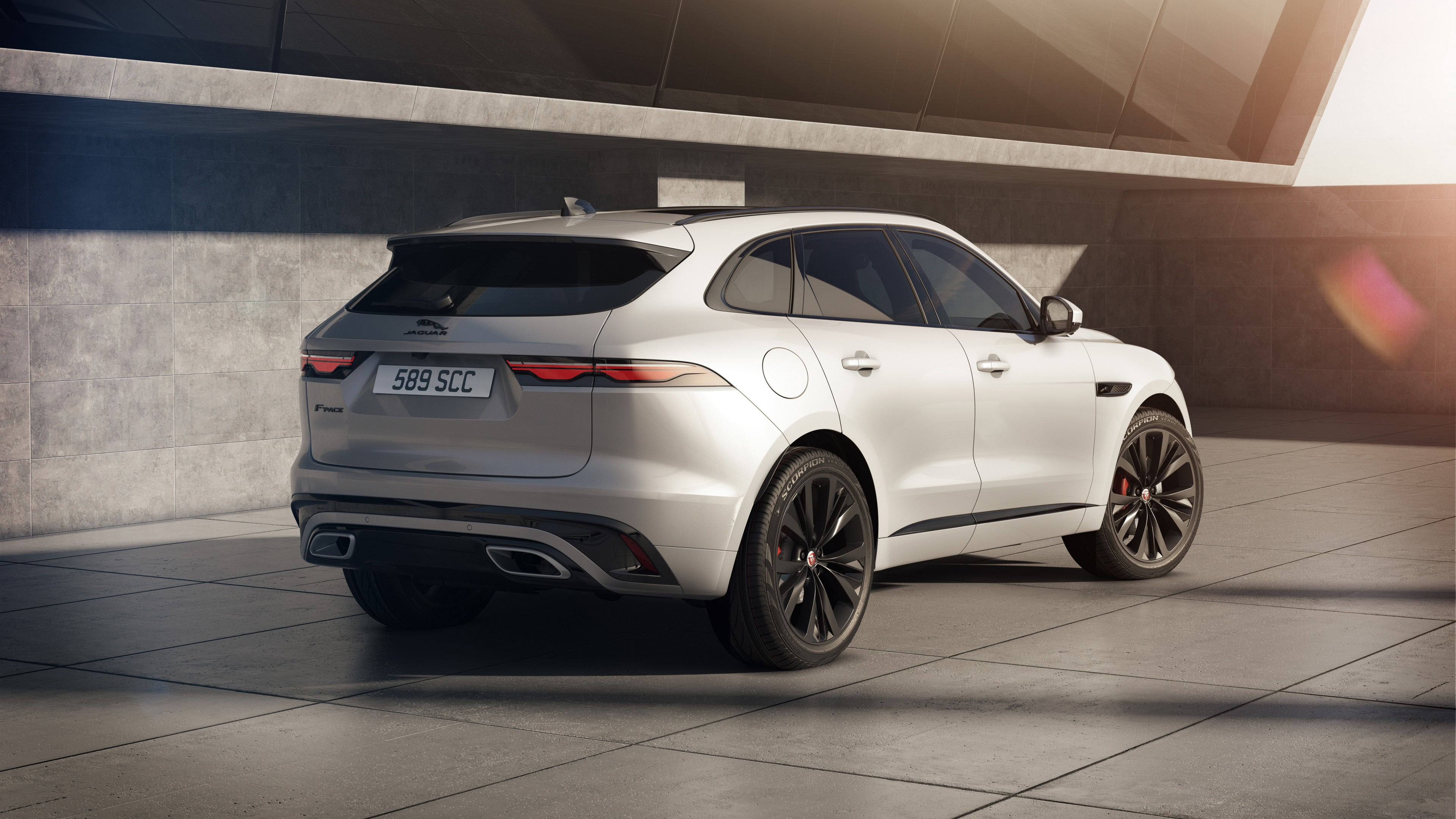 Jaguar F-Pace R-Dynamic Black Pack 2020 5K 2 Wallpaper ...