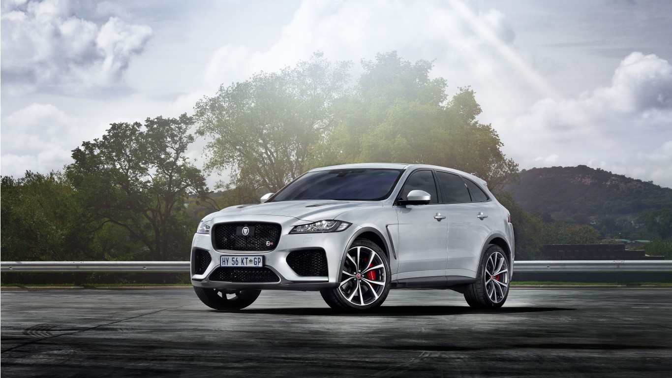 Jaguar F Type Svr >> Jaguar F-Pace SVR 2019 5K Wallpaper | HD Car Wallpapers | ID #12505