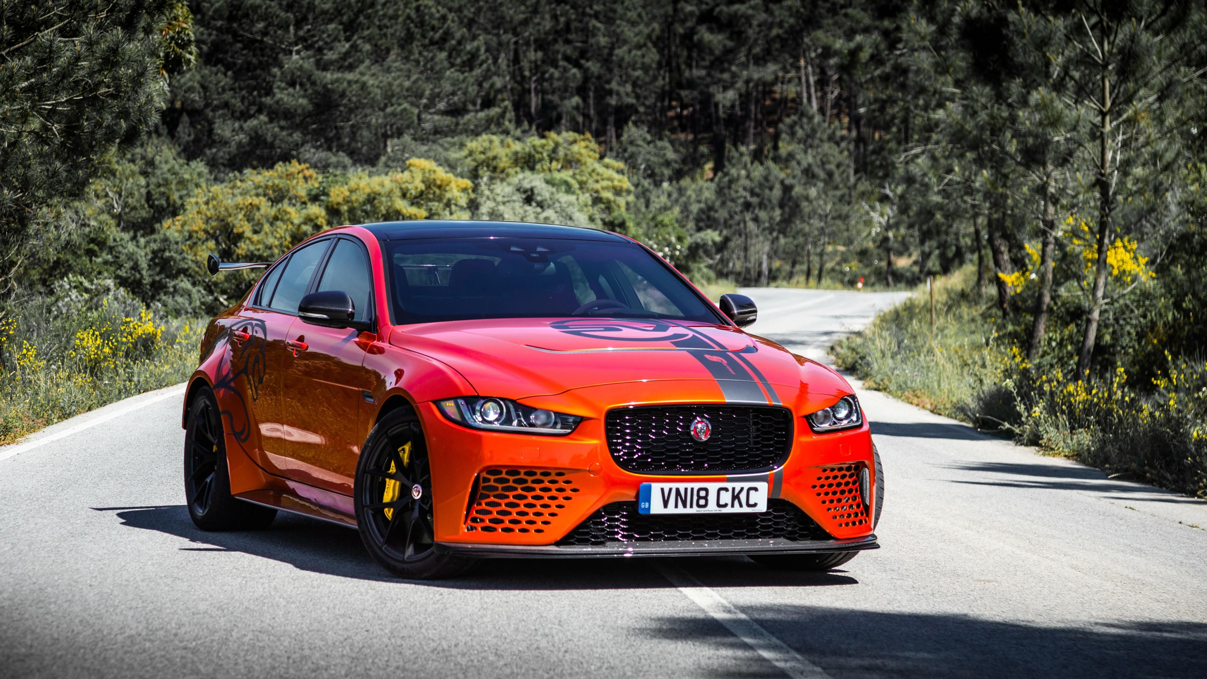 Jaguar Xe Sv Project 8 2018 4k 3 Wallpaper Hd Car Wallpapers Id 10506
