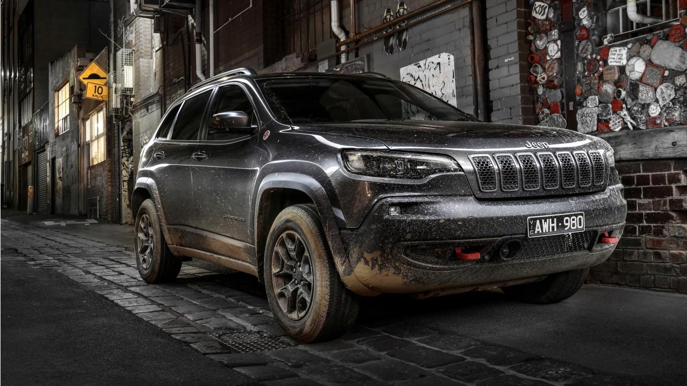 Jeep Cherokee Trailhawk 2018 4K Wallpaper   HD Car ...