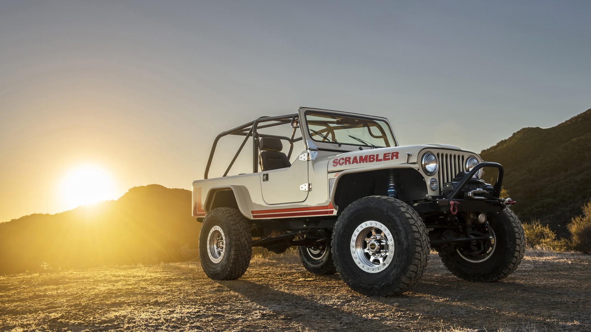 Jeep Cj8 Scrambler Wallpaper Hd Car Wallpapers Id 6787