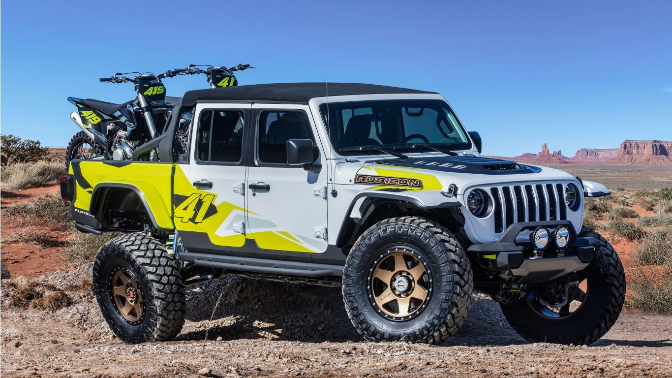Jeep Flatbill 2019 Wallpaper Hd Car Wallpapers Id 12387