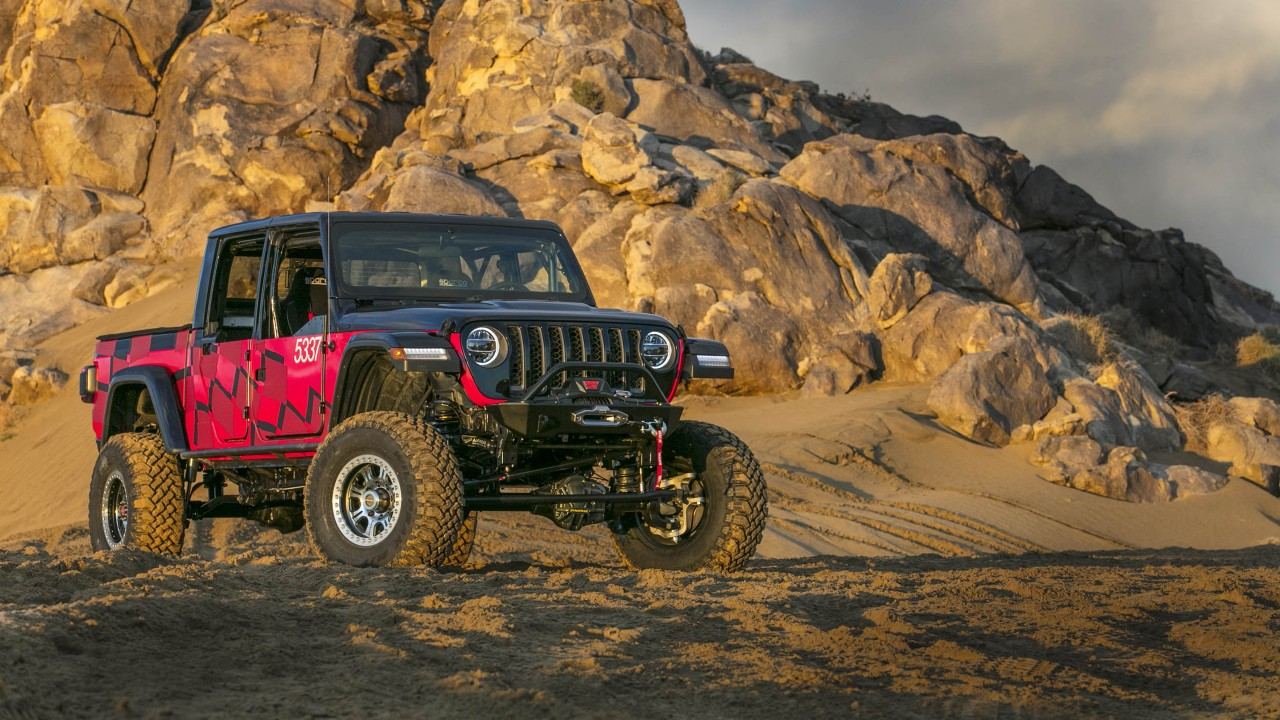 Jeep Gladiator 2016 >> Jeep Gladiator King of the Hammers Race Car 2019 Wallpaper ...