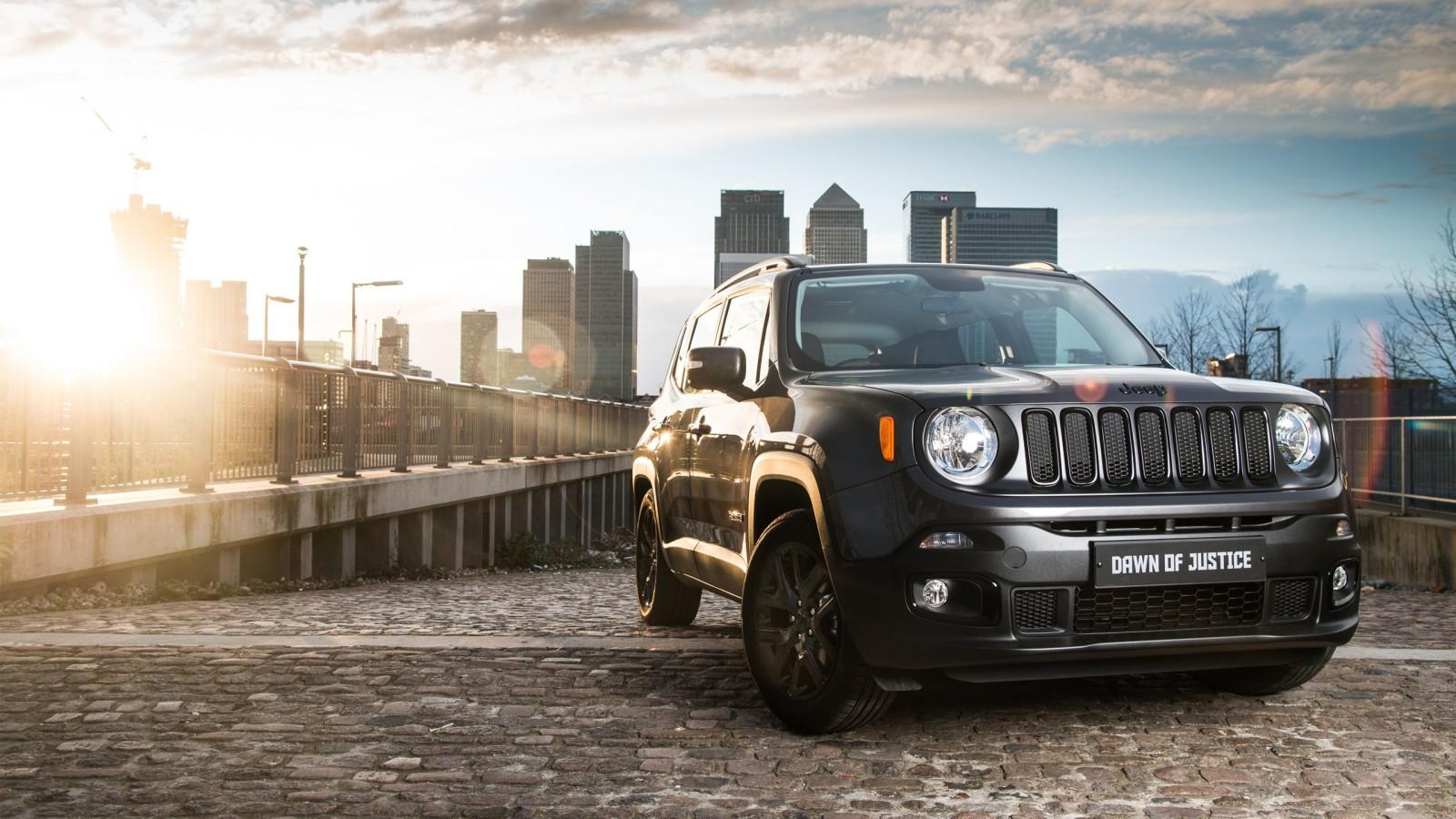 jeep renegade dawn of justice edition wallpaper hd car