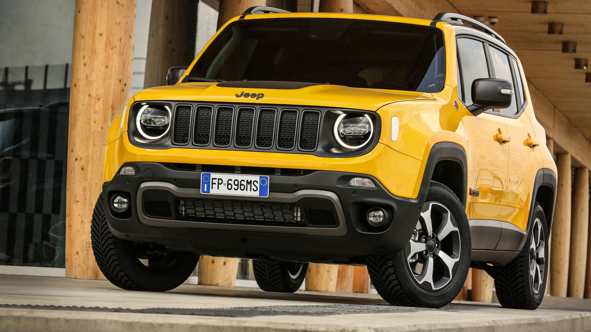 Lifted Jeep Renegade Sport >> Jeep Renegade Trailhawk 2018 4K 2 Wallpaper | HD Car Wallpapers | ID #10701