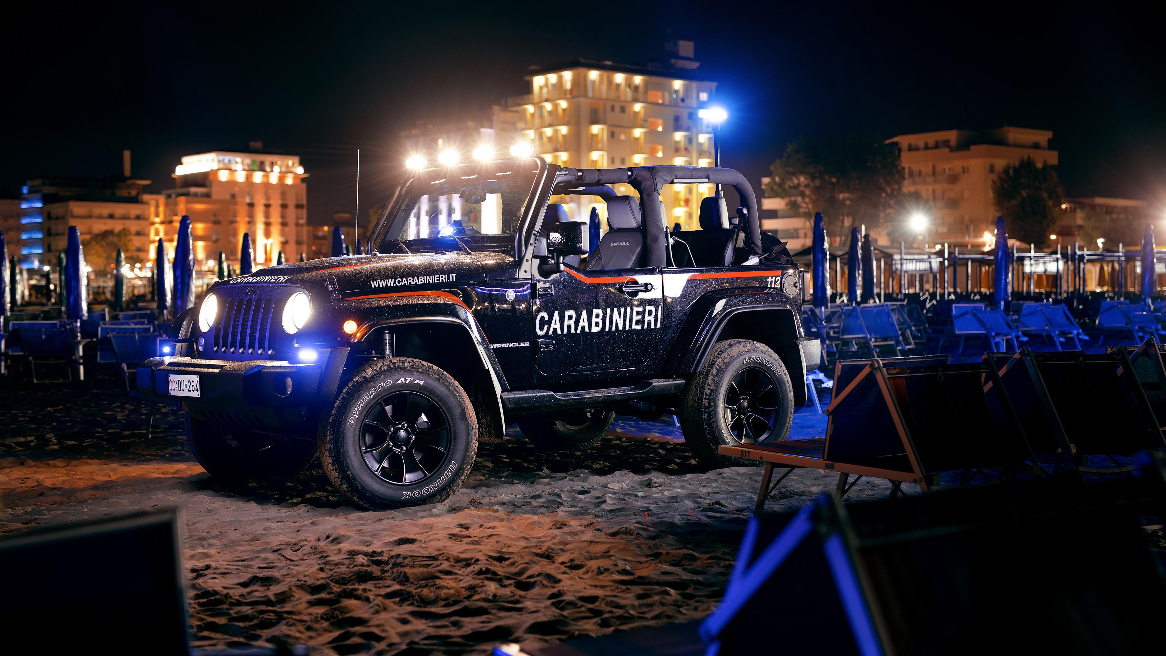 Jeep Wrangler Carabinieri 4k Wallpaper Hd Car Wallpapers