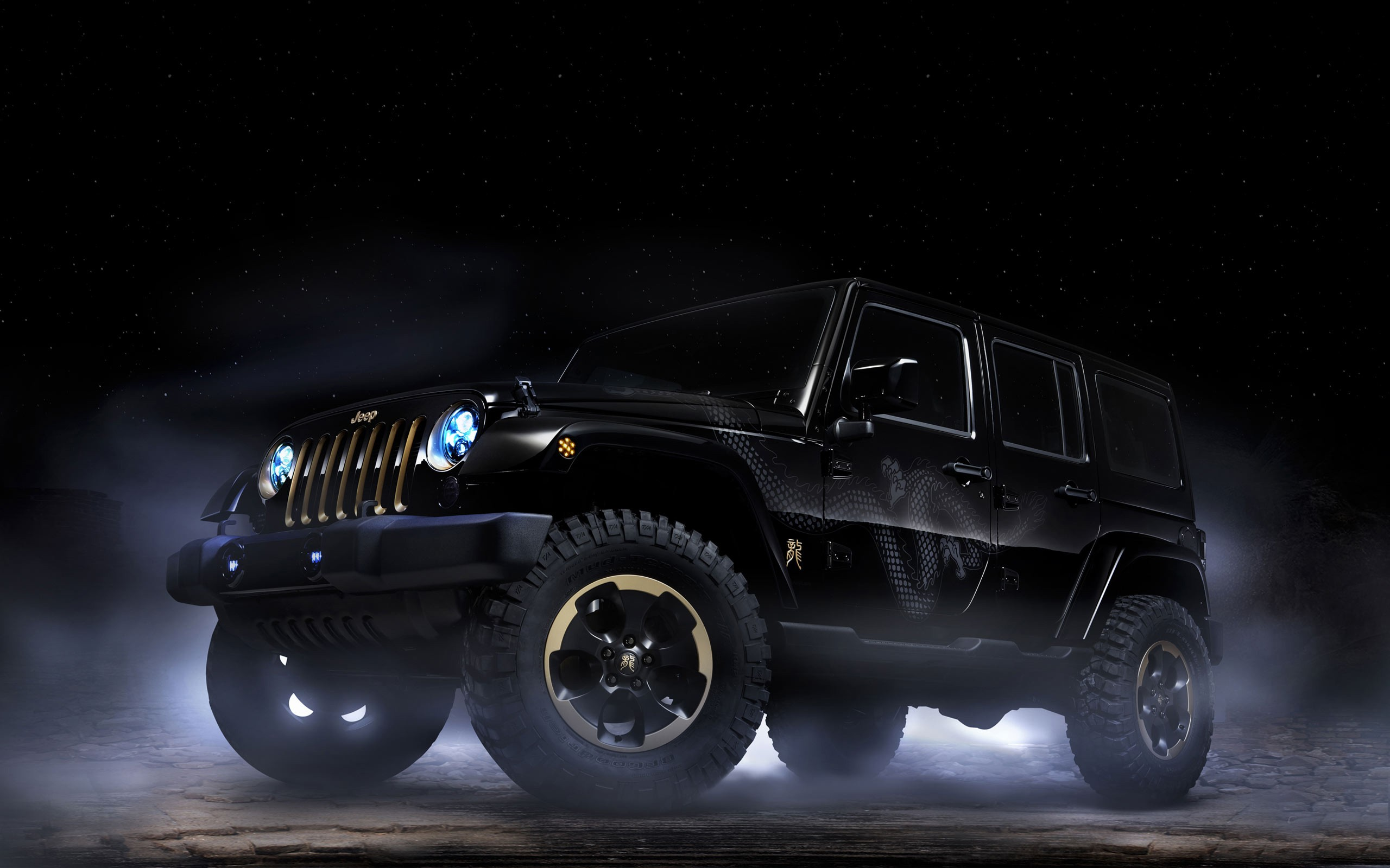 Jeep Car Images Hd: Jeep Wrangler Dragon Concept 2 Wallpaper