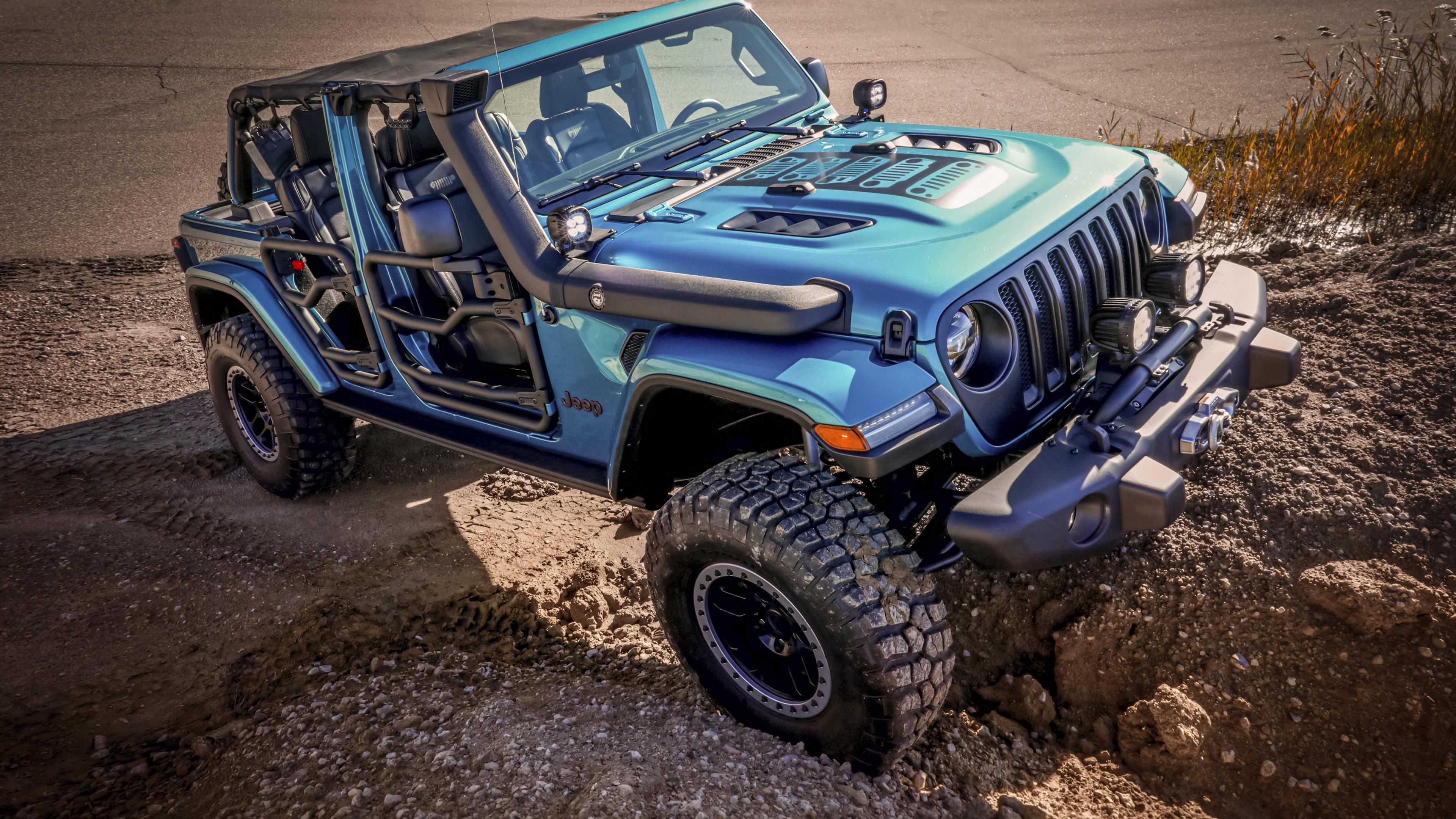 Jeep Wrangler Rubicon By Mopar 2019 5k Wallpaper Hd Car Wallpapers Id 13539