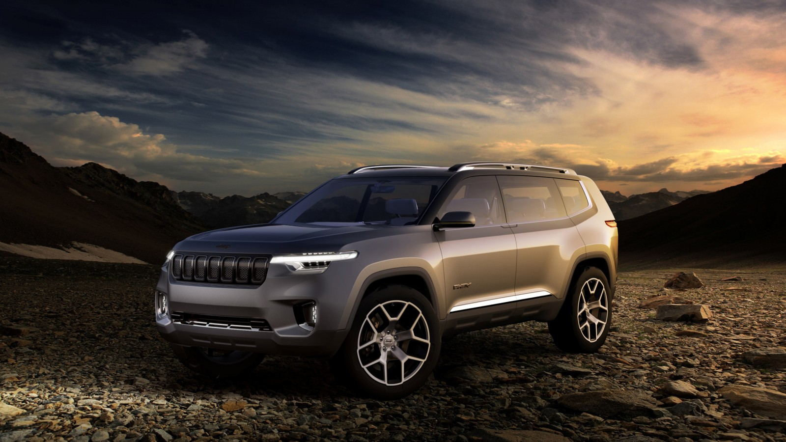 Jeep Yuntu Concept Wallpaper | HD Car Wallpapers | ID #7744