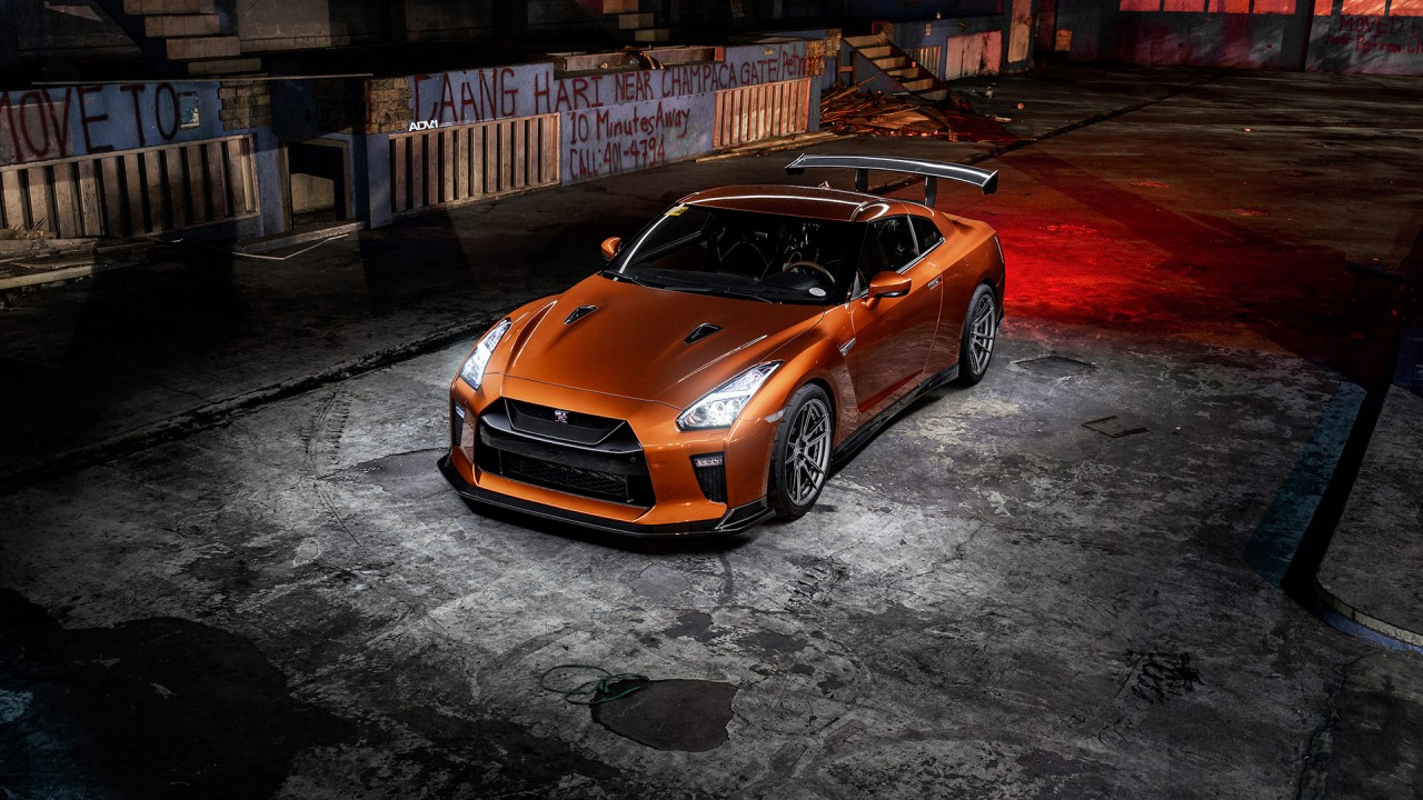 Katsura Orange Nissan GTR R3 Wallpaper | HD Car Wallpapers ...