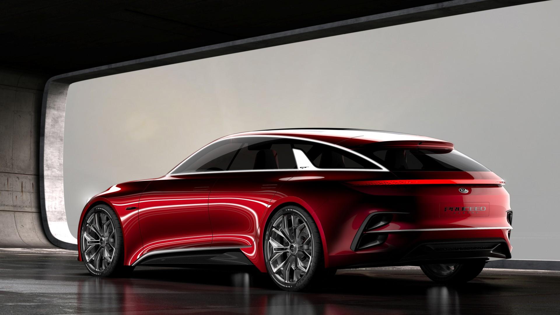 Kia Proceed Concept 2017 Frankfurt Motor Show 4K 3 ...